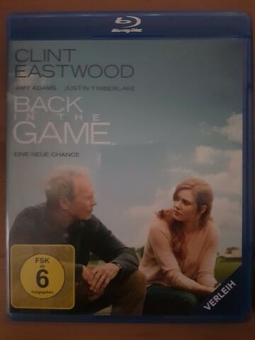 BACK IN THE GAME CLINT EASTWOOD JUSTIN TIMBERLAKE AMY ADAMS BLU RAY