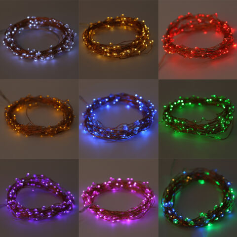 20 200LED SOLAR BATTERY POWERED OUTDOOR XMAS LED FAIRY LIGHTS STRING PARTY WYB