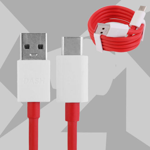 ORIGINAL DASH CHARGE FAST CHARGER DATA TYPE C USB CABLE FOR ONEPLUS 3 LZ