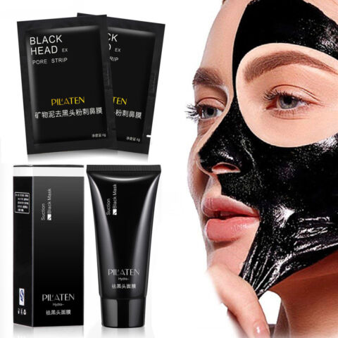 SCHWARZE MASKE BLACK HEAD KILLER PEEL OFF PILATEN GESICHTSMASKE MITESSER PICKEL