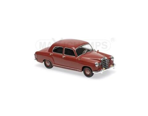 MERCEDES BENZ 180 W120 1955 RED 940033101 MAXICHAMPS MINICHAMPS 1 43 NEW OVP