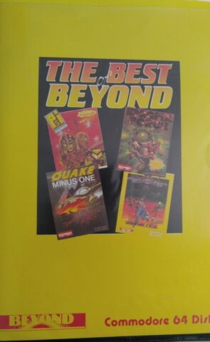 THE BEST OF BEYOND BEYOND 1986 C64 DISKETTE SMALL BOX DISK MANUAL 100 OK
