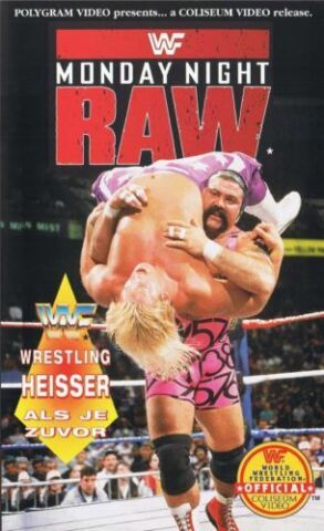WWF BEST OF MONDAY NIGHT RAW 1993 ORIG VHS WWE WRESTLING DEUTSCHE VERSION