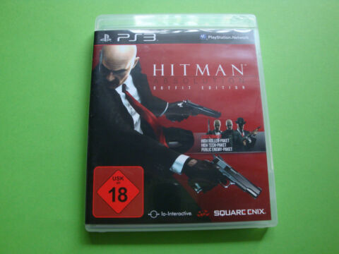 HITMAN ABSOLUTION OUTFIT EDITION SONY PLAYSTATION 3 2012