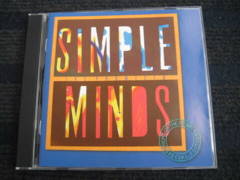 CD SIMPLE MINDS THE PROMISED SPECIAL EDITION NIGHT OF THE PROMS NEUWERTIG