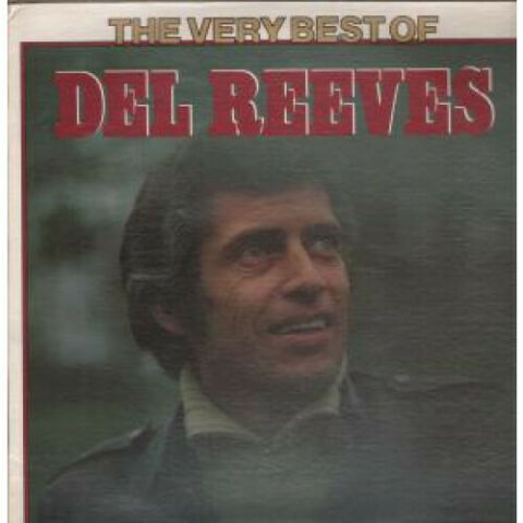 DEL REEVES VERY BEST OF LP VINYL USA UNITED ARTISTS 12 TRACK UALA378E SLEEVE