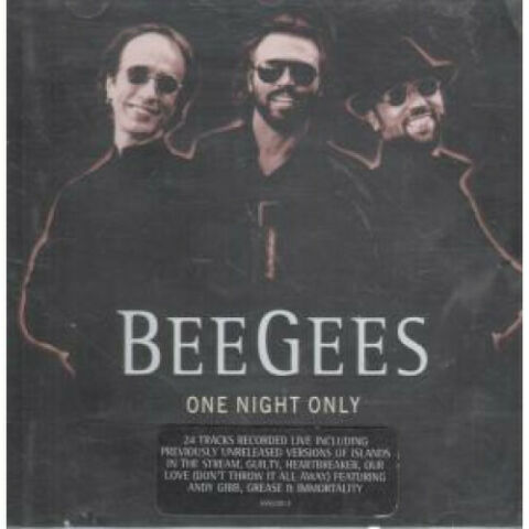 BEE GEES ONE NIGHT ONLY CD UK POLYDOR 24 TRACK LIVE 5592202