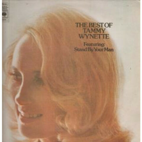 TAMMY WYNETTE BEST OF LP VINYL NETHERLANDS CBS 12 TRACK REISSUE SLEEVE HAS