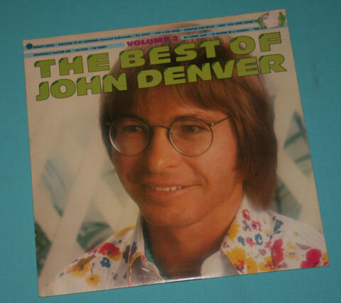 THE BEST OF JOHN DENVER VOLUME 2 VINYL LP 1977 RCA