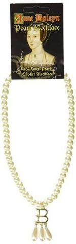 ANNE BOLEYN UGLY BETTY 16 PEARL CHOKER NECKLACE AUTHENTIC REPLICA