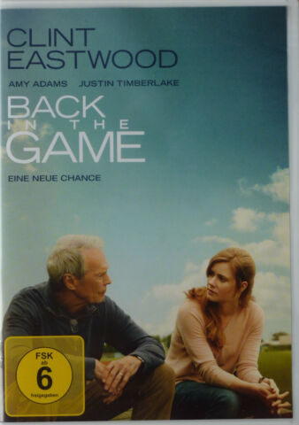 DVD H LLE MIT ORIGINAL COVER BACK IN THE GAME MIT CLINT EASTWOOD