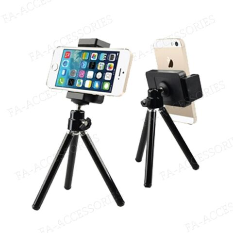 MINI TRIPOD STAND HOLDER MOUNT FOR CAMERA MOBILE APPLE IPHONE 7 6S 6 SAMSUNG
