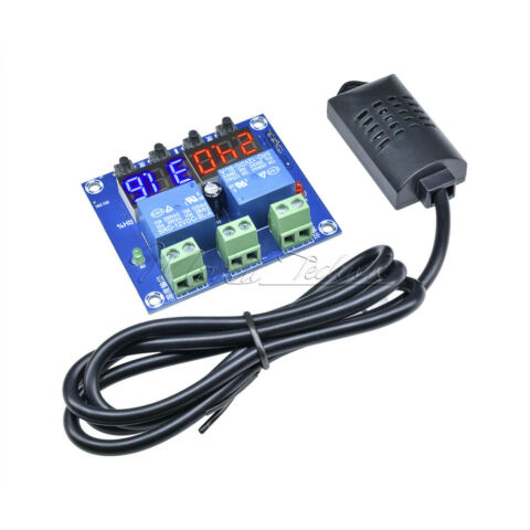 XH M452 DC 12V LED DIGITAL DISPLAY DUAL OUTPUT THERMOSTAT TEMPERATURE CONTROLLER