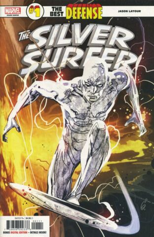 DEFENDERS SILVER SURFER 1 MARVEL COMICS US COMIC G681