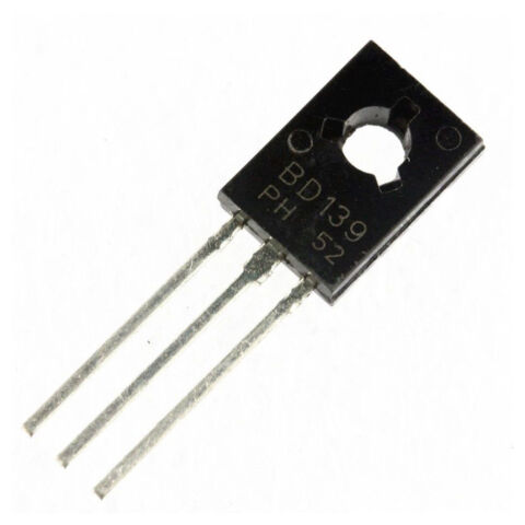 10PCS BD139 GENUINE ON SEMICONDUCTOR NPN TRANSISTOR 1 5A 80V TO 126PDH