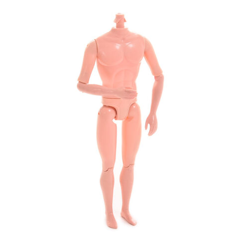 NAKED BABY DOLL JOINT MOVEABLE BOY K RPER SPIELZEUG PUPPE OHNE KOPF PDH