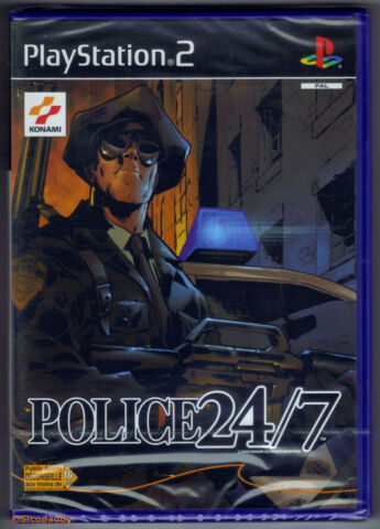 PS2 POLICE 24 7 2002 FRENCH VERSION UK PAL BRAND NEW SONY FACTORY SEALED