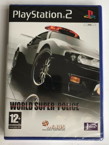 PS2 WORLD SUPER POLICE 2006 UK PAL BRAND NEW SONY FACTORY SEALED