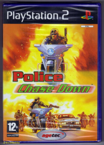 PS2 POLICE CHASE DOWN 2004 UK PAL BRAND NEW SONY FACTORY SEALED