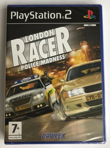 PS2 LONDON RACER POLICE MADNESS 2005 UK PAL BRAND NEW SONY FACTORY SEALED