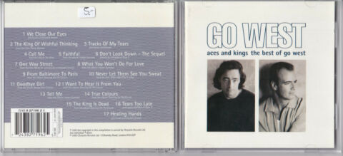 GO WEST ACES AND KINGS THE BEST OF GO WEST CD CHRYSALIS NEAR MINT