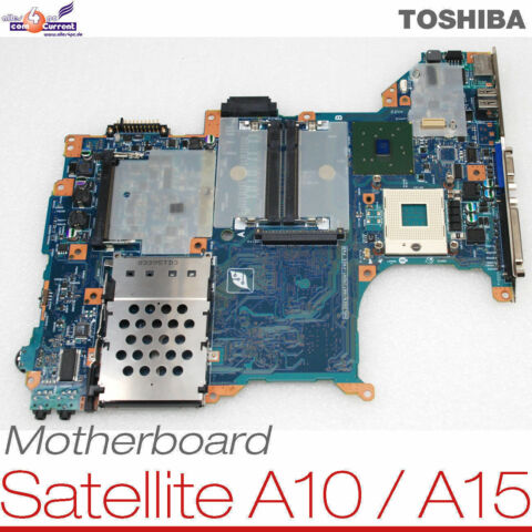 MOTHERBOARD BOARD P000387490 NOTEBOOK TOSHIBA SATELITE A10 A15 S100 SP129 048