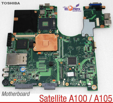 MOTHERBOARD V000068000 6050A2045201 MB NOTEBOOK TOSHIBA SATELITE A100 A105 82