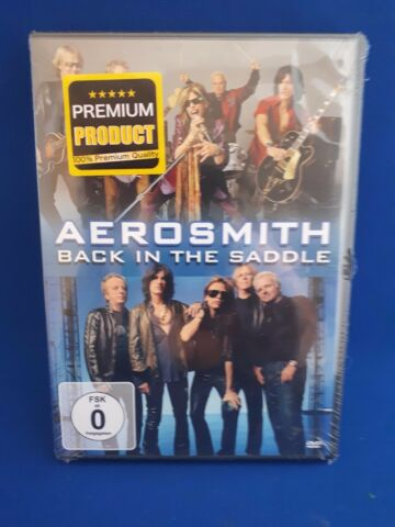 DVD AEROSMITH BACK IN THE SADDLE NEU OVP