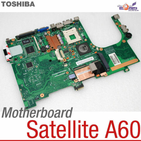 MAINBOARD NOTEBOOK V000041680 TOSHIBA SATELITE A60 PCB TC778 MB 41A VER1 073
