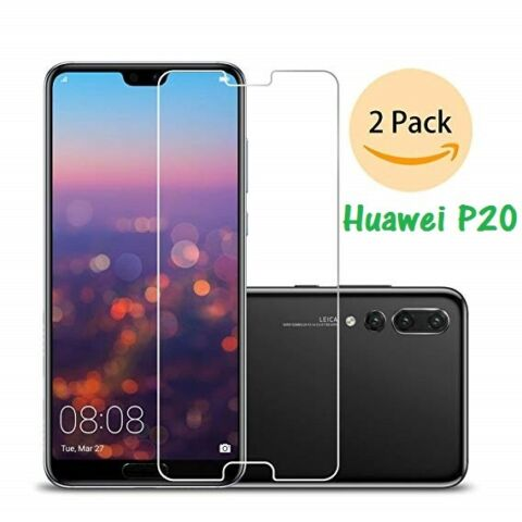 2X HUAWEI P20 PANZER GLASFOLIE DISPLAYSCHUTZ FOLIE SCHUTZ GLAS TEMPERED GLASS