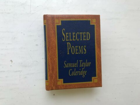 DEL PRADO MINIATURE BOOK CLASSICS SELECTED POEMS SAMUEL TAYLOR COLERIDGE