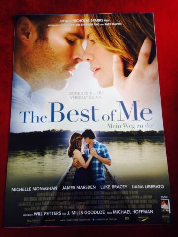 THE BEST OF ME KINOPLAKAT POSTER A0 84X119CM MICHELLE MONAGHAN NICOLAS SPARKS