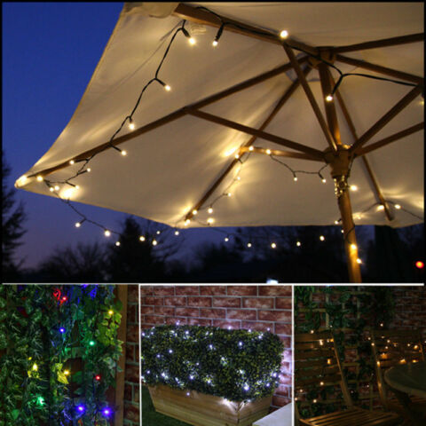 10 15 20M LED SOLAR FAIRY STRING LIGHT OUTDOOR WEDDING CHRISTMAS PARTY LAMP XHM