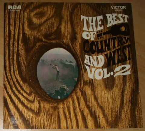 THE BEST OF COUNTRY AND WEST VOL 2 LP COMPILATION