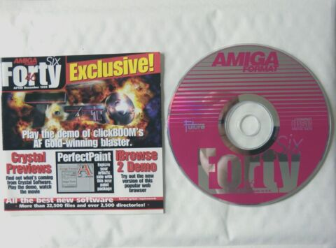 57351 DISC 46 AMIGA FORMAT MAGAZINE COMMODORE AMIGA 1999 AF130 12 99