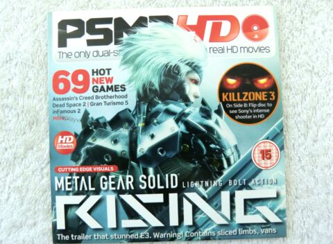 21213 PSM3 DVD HD ISSUE 130 SEPTEMBER SONY PS3 PLAYSTATION 3 2010 VFD 45634