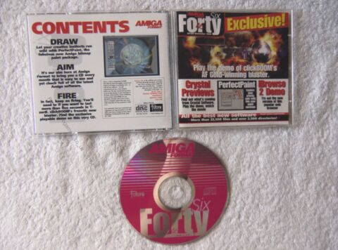36754 DISC 46 AMIGA FORMAT MAGAZINE COMMODORE AMIGA 1999 AF 130 12 99