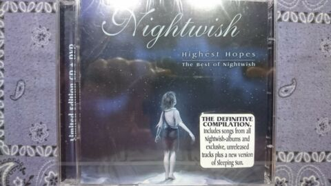 NIGHTWISH HIGHEST HOPES THE BEST OF NIGHTWISH CD DVD LIMITED EDIT NEU OVP