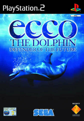 ECCO THE DOLPHIN DEFENDER OF THE FUTURE PLAYSTATION 2 PS2 USED