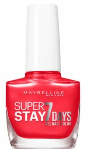 MAYBELLINE NEW YORK NAGELLACK SUPERSTAY 7 DAYS 919 CORAL DAZE 10 ML