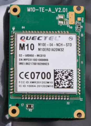 QUECTEL M10 TE A QUAD BAND GSM GPRS CLASS 12 DATA MODULE WITH SPEECH CAPABIL