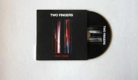 TWO FINGERS FEAT SWAY TWO FINGERS UK ADVCCD2009 PR STICKER ELECTRONIC HIP HOP