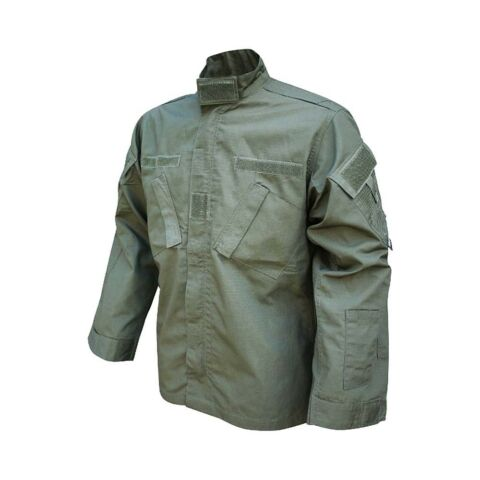 VIPER COMBAT SHIRT MILITARY ARMY STYLE SHOOTING GAME OUTFIT OLIVE GREEN
