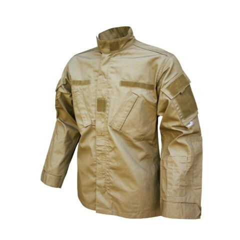 VIPER KAMPF SHIRT MILIT R ARMEE STYLE SCHIE SPIEL OUTFIT HEMD SAND
