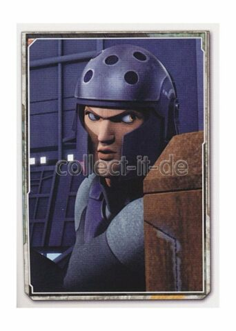 TOPPS STAR WARS REBELS STICKER NR 142