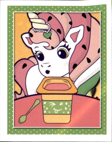 STICKER 142 TOPPS I BELIEVE IN UNICORNS