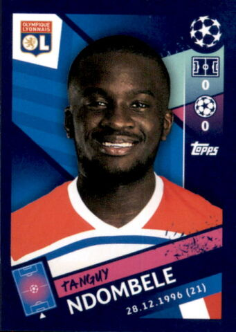 TOPPS CHAMPIONS LEAGUE 18 19 STICKER 358 TANGUY NDOMBELE