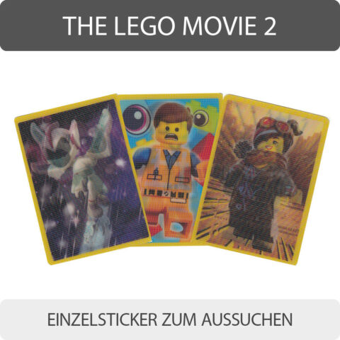BLUE OCEAN THE LEGO MOVIE 2 EINZELSTICKER 1 182 BONUS STICKER ZUM AUSSUCHEN