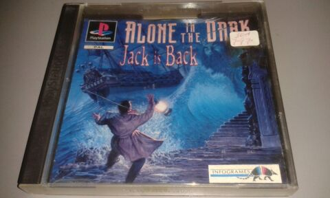 ALONE IN THE DARK JACK IS BACK SONY PLAYSTATION 1 PS1 PSX SPIEL