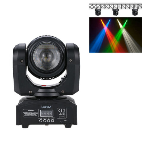 35W RGBW DMX512 MOVING HEAD LED STAGE LIGHT DOUBLE SIDES BEAM LAMPE 15 21CH C4K2